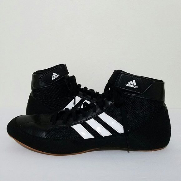 adidas Other - Adidas Performance HVC Wrestling Shoes Black Sz 13
